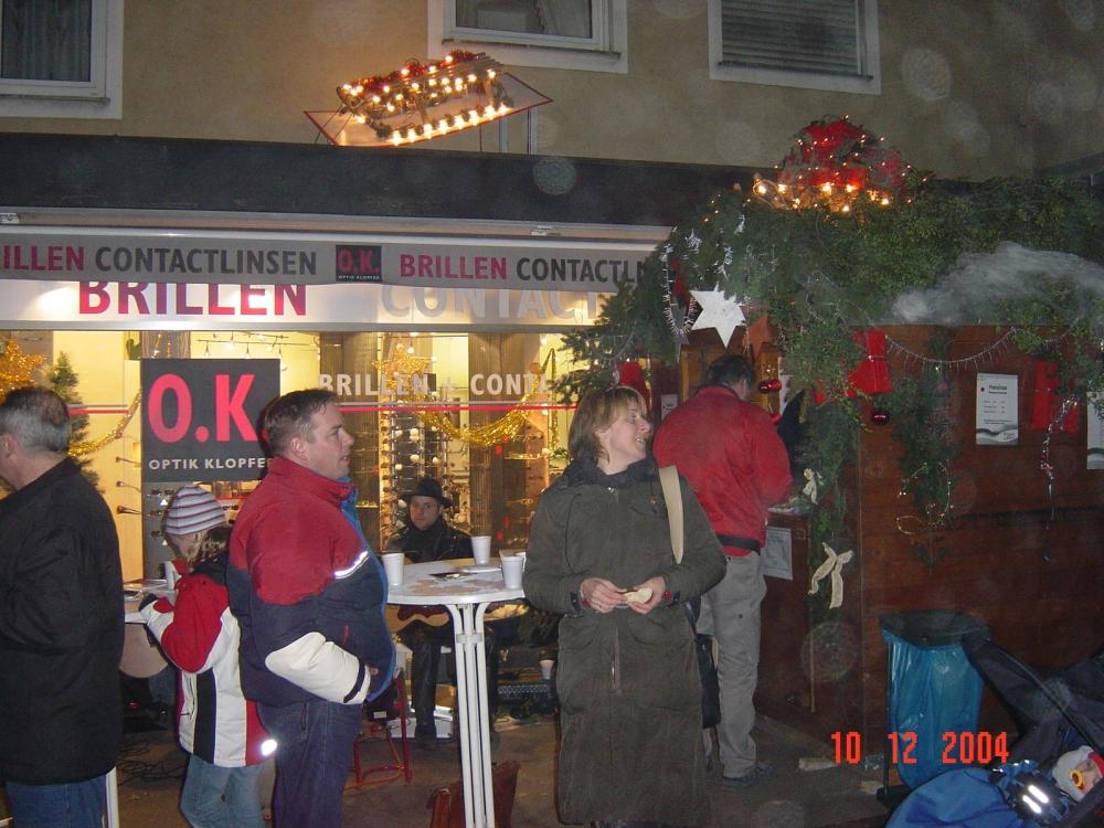 Weihnacht & Glühweinstand 2004
