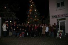 Weihnacht & Glühweinstand 2007
