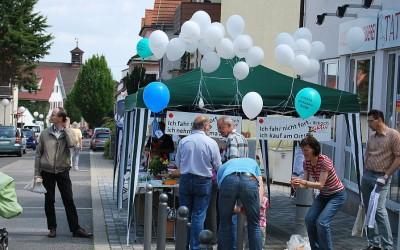 Flanieren und Feiern in Birkach