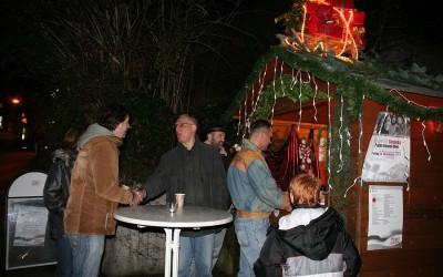 Berühmt, traditionell, original… Der Birkach aktiv Glühweinstand