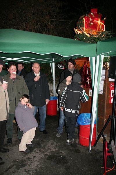 Der Birkacher Glühweinstand 2009