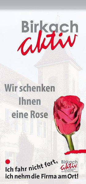 Eine Rose zum Valentinstag