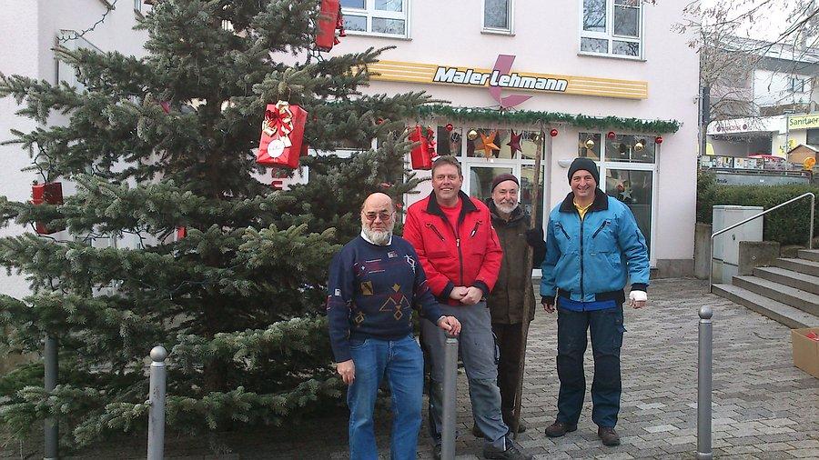 Die Weihnachtsbaumwichtel