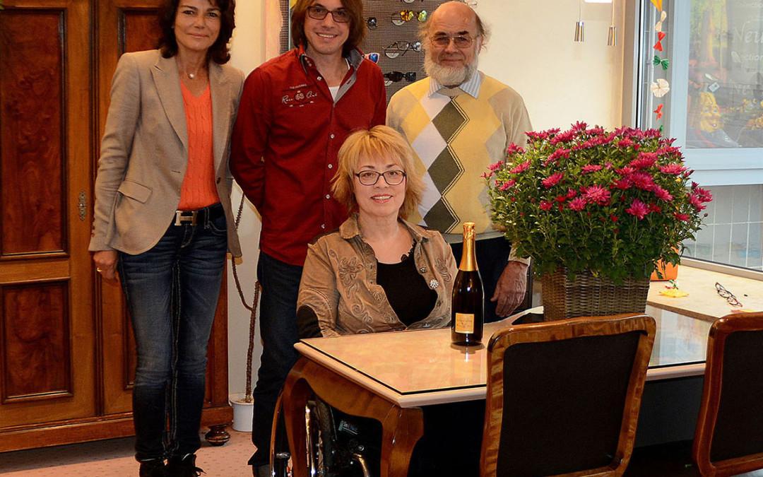Optik Klopfer feiert 20jähriges Bestehen!