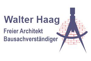 Freier Architekt & BausachverständigerWalter Haag