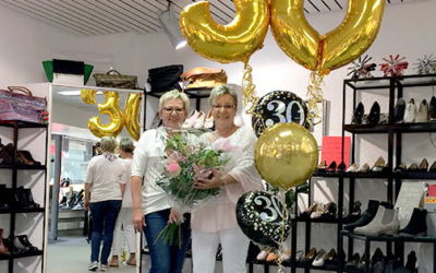 Schuhhaus Gooß feiert 30 jähriges Jubiläum!